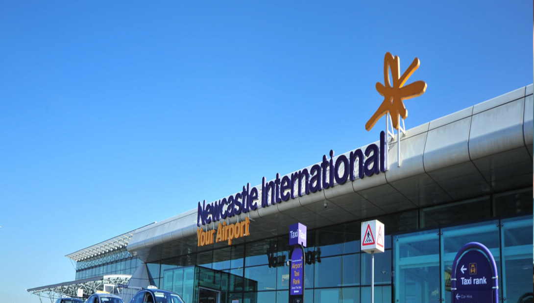Newcastle international airport case study